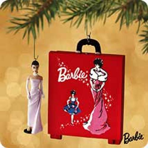 2002 Barbie - Case