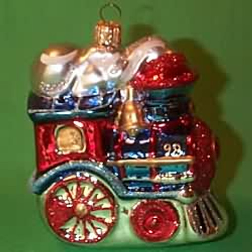 1998 Glass - Festive Locomotive