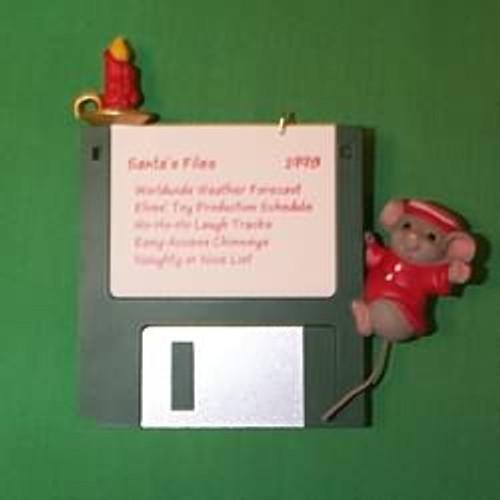 1998 Checking Santa's Files