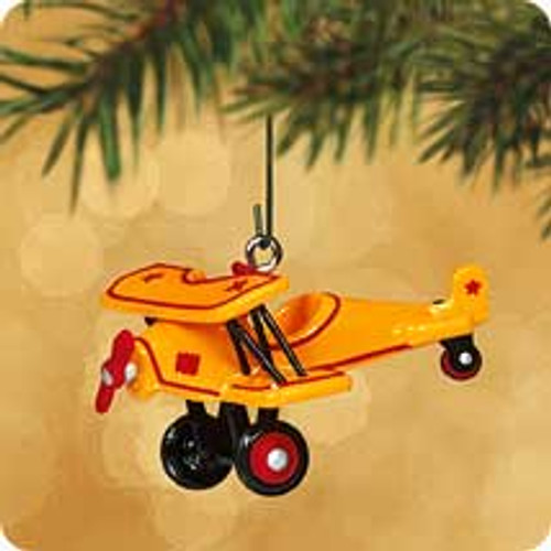 2002 Kiddie Car Mini #8 - 1930 Custom Biplane