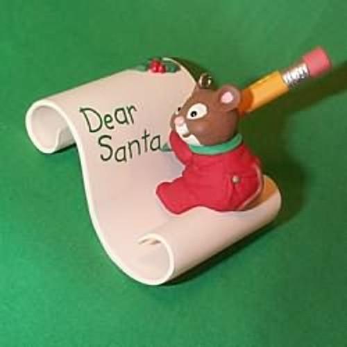1998 Writing To Santa
