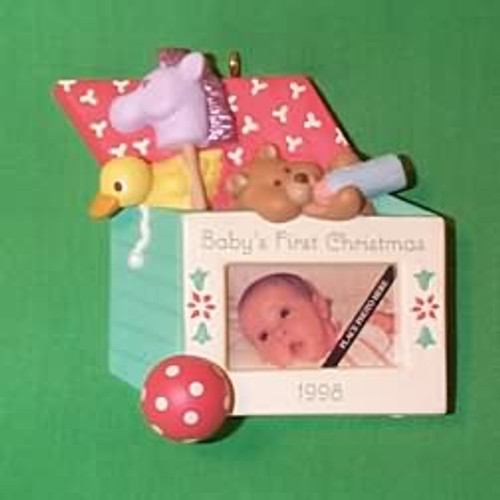 1998 Baby's 1st Christmas - Photo