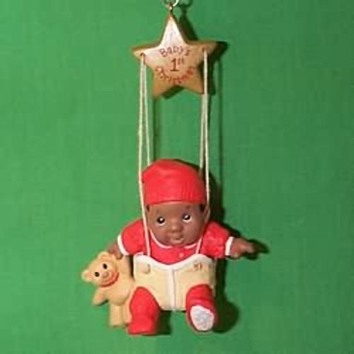 1998 Baby's 1st Christmas - Swing