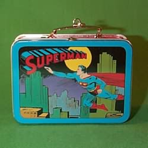 1998 Superman Lunch Box