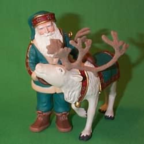 1998 Santa's Deer Friend