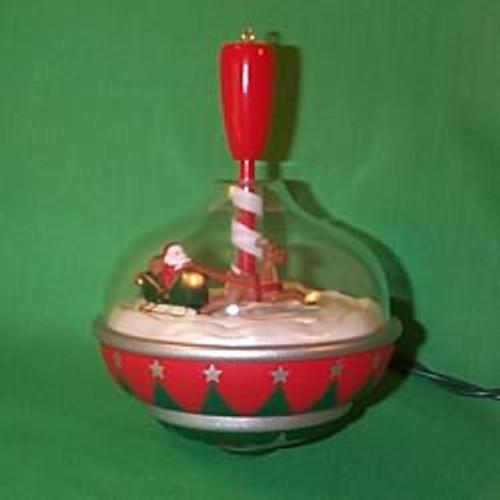 1998 Santa's Spin Top