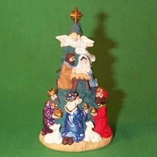 1997 Nativity Tree