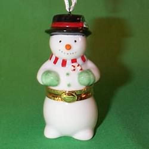 1997 Snowman Hinged Box