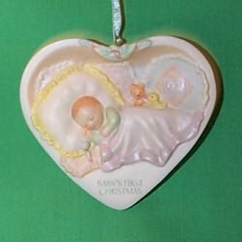 1997 Baby's 1st Christmas - Heart