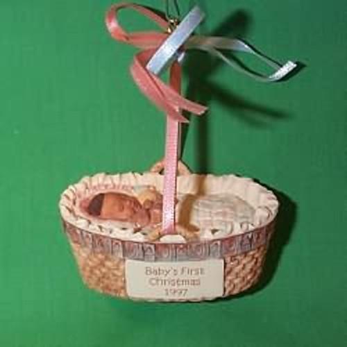1997 Baby's 1st Christmas - Crib