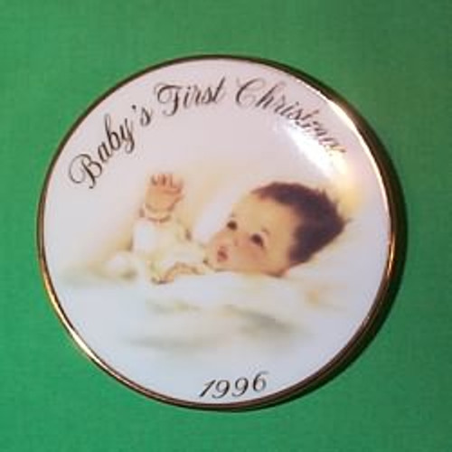 1996 Baby's 1st Christmas - Plate