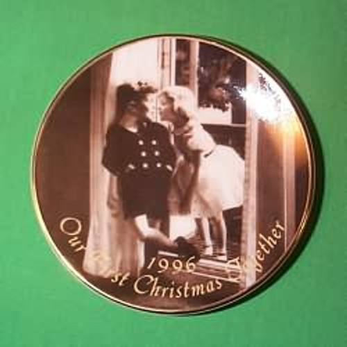 1996 1st Christmas Together - Plate