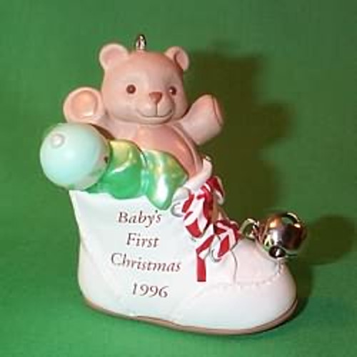 1996 Baby's 1st Christmas - Shoe