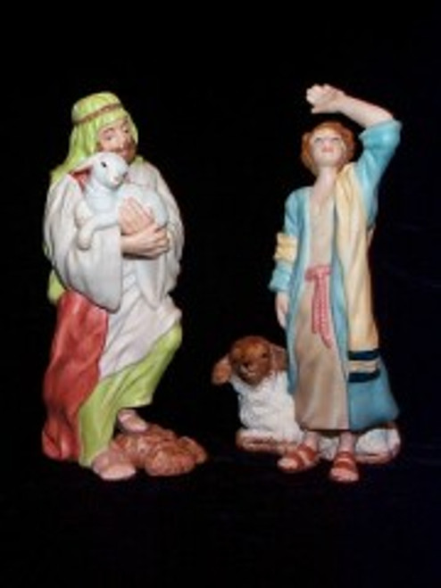 2000 Nativity - The Shepherds Hallmark Ornament