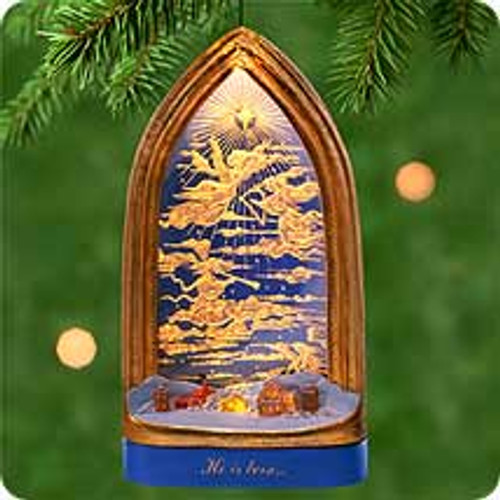 2000 Angels Over Bethlehem Hallmark Ornament