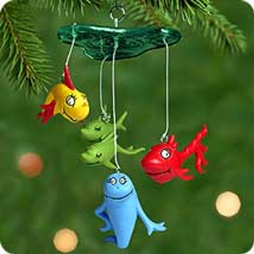2000 One Fish Two Fish Hallmark Ornament