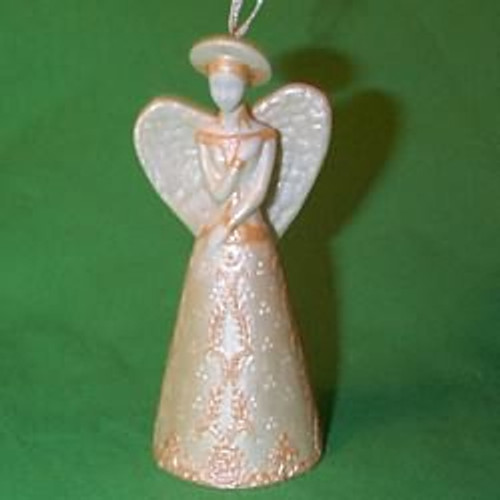2000 Angelic Bell Hallmark Ornament