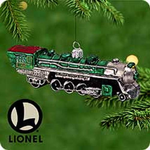 2000 Lionel 4501 - Blown Glass Hallmark Ornament