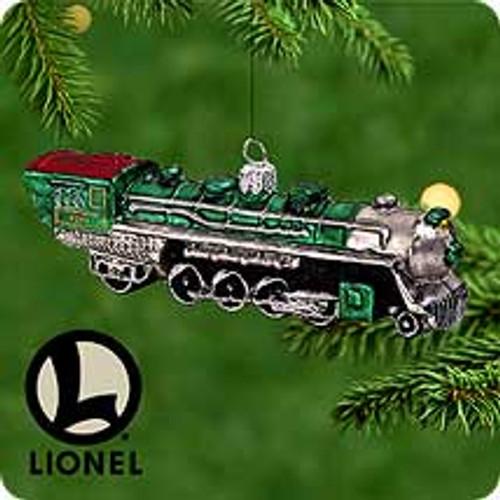 2000 Lionel 4501 - Blown Glass Hallmark Ornament