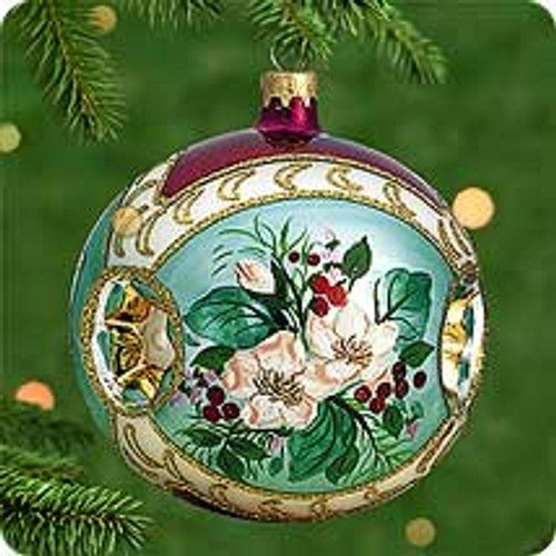 2000 BG - Christmas Rose Hallmark Ornament
