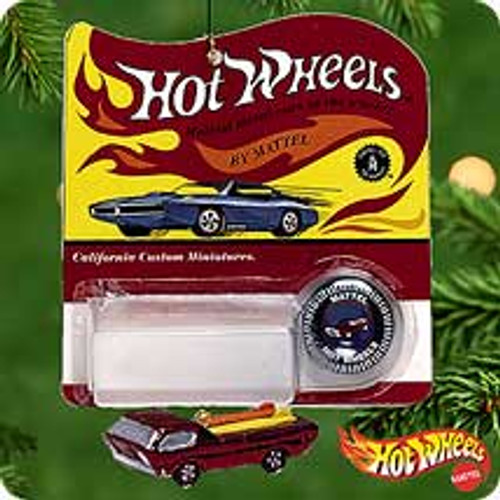 2000 Hot Wheels Hallmark Ornament