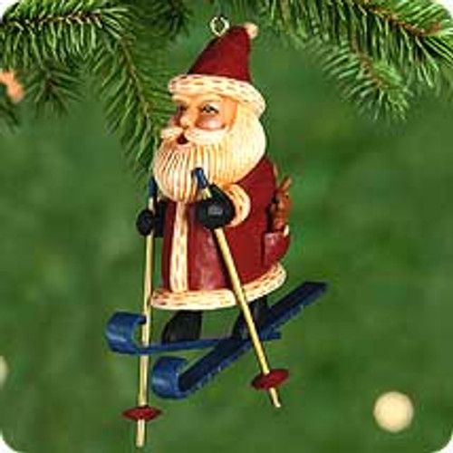 2000 Kris Cross Country Kringle Hallmark Ornament