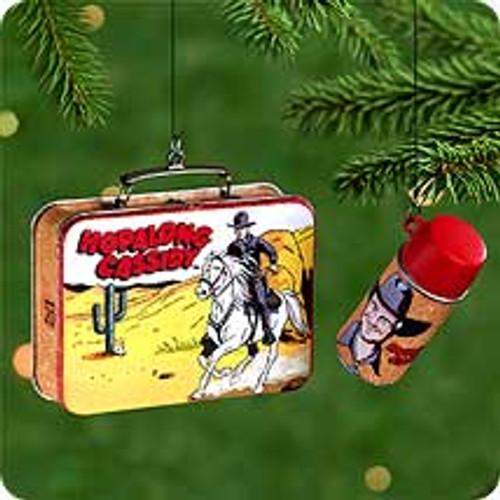 2000 Hopalong Cassidy Hallmark Ornament