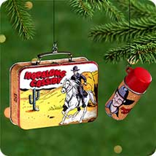 2000 Hopalong Cassidy Hallmark Ornament