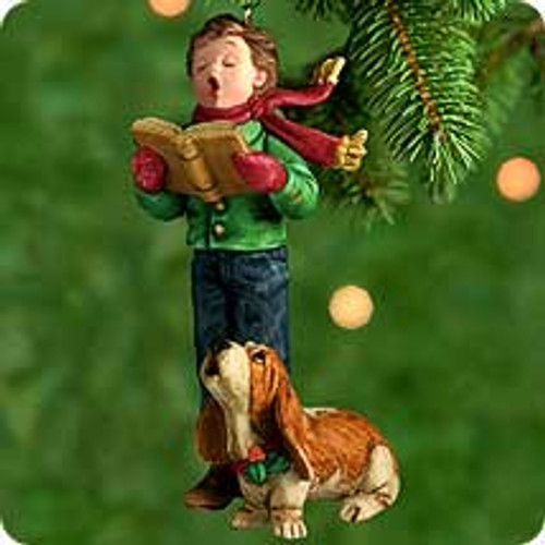2000 Caroler's Best Friend Hallmark Ornament