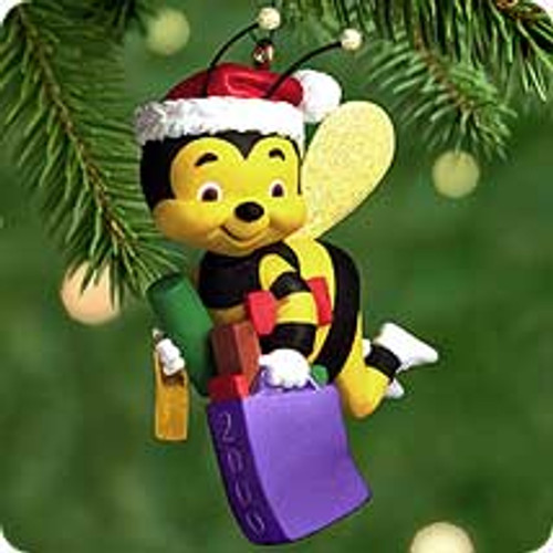2000 Busy Bee Shopper Hallmark Ornament