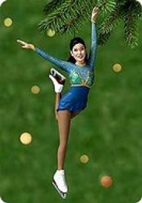 2000 Kristi Yamaguchi Hallmark Ornament