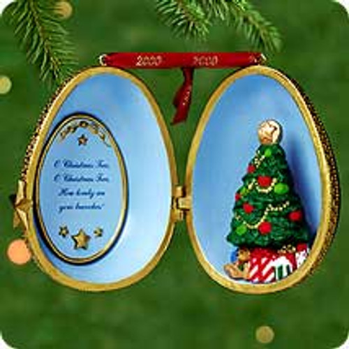 2000 Christmas Tree Surprise Hallmark Ornament