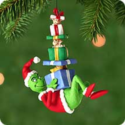 2000 Gifts For The Grinch Hallmark Ornament