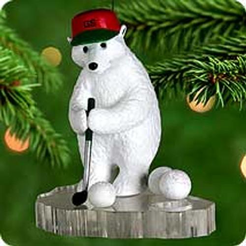 2000 Golfer Supreme Hallmark Ornament