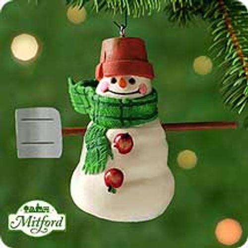 2000 Mitford Snowmen - Max Hallmark Ornament
