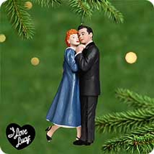 2000 Lucy Is Enceinte Hallmark Ornament