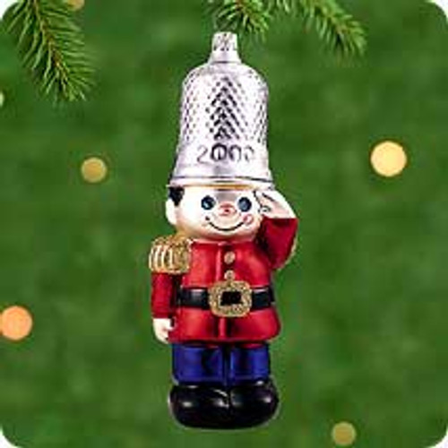 2000 BG - Thimble Soldier Hallmark Ornament