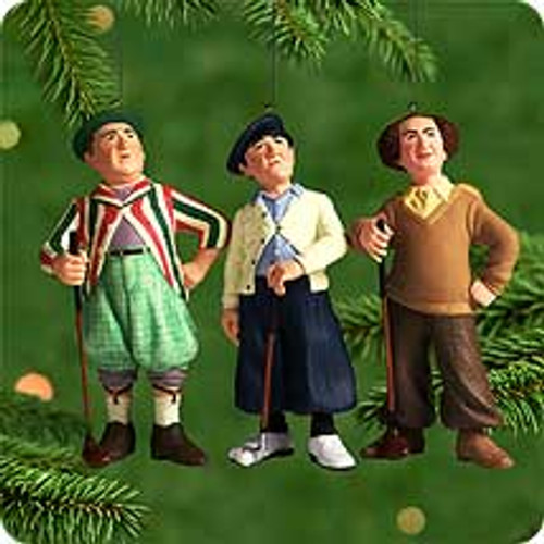 2000 The Three Stooges Hallmark Ornament