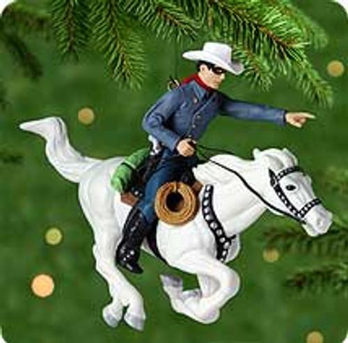 2000 The Lone Ranger Hallmark Ornament