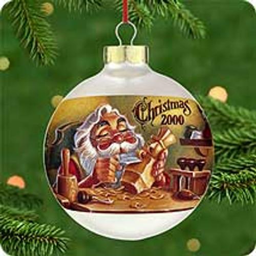2000 Warmed By Candleglow Hallmark Ornament