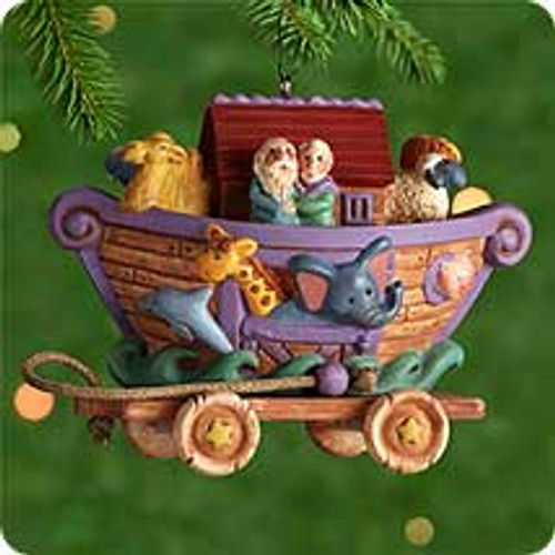 2000 Safe In Noah's Ark Hallmark Ornament