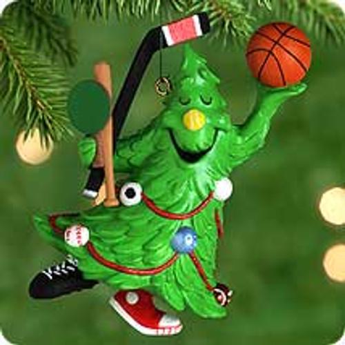 2000 Tree Guy Hallmark Ornament