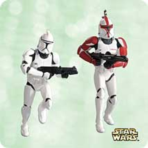 2003 Star Wars - Mini Clone Troopers Hallmark ornament