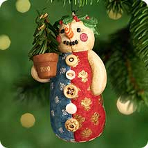 2000 Snow Girl Hallmark Ornament