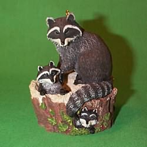 1999 Majestic Wilderness #3 - Raccoons