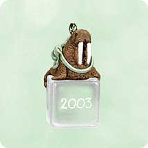 2003 Ice Block Buddies #4 - Walrus