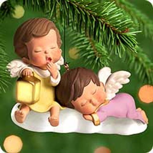 2000 Mary's Angels Lighted Hallmark Ornament