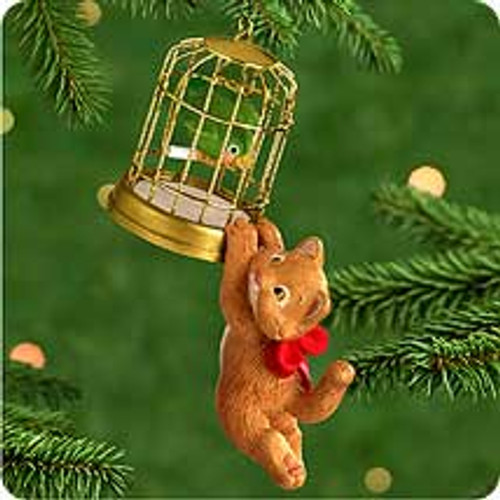 2000 Mischievous Kittens #2 Hallmark Ornament