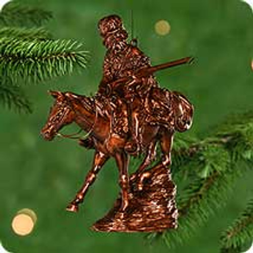 2000 Old West #3F - Mountain Man Hallmark Ornament