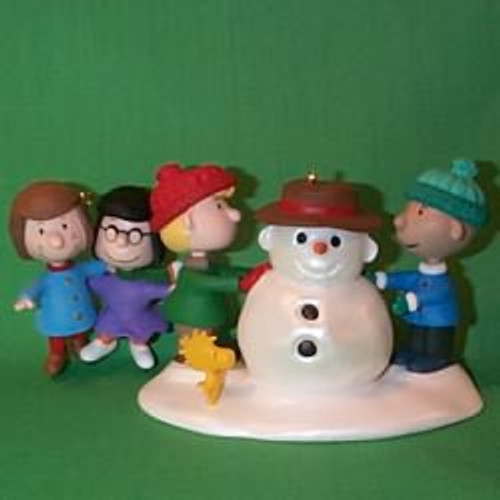 1999 Peanuts - Snowy Day